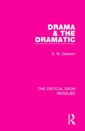 Drama & the Dramatic book cover