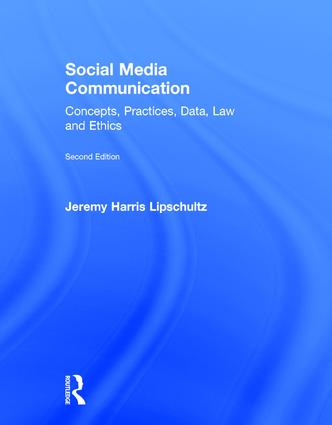 Social Media Communication: Concepts, Practices, Data, Law and Ethics, 2nd Edition (Hardback) book cover