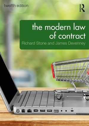 The Modern Law of Contract book cover