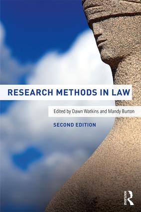 Research Methods in Law: 2nd Edition (Paperback) book cover