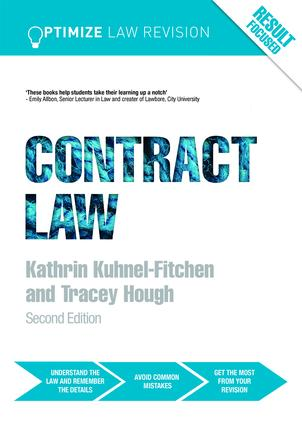 Optimize Contract Law: 2nd Edition (Paperback) book cover