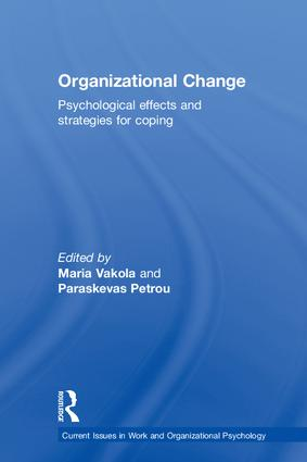 Organizational Change: Psychological effects and strategies for coping, 1st Edition (Hardback) book cover