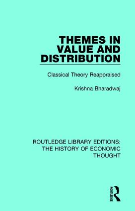 Themes in Value and Distribution: Classical Theory Reappraised book cover