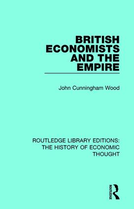 British Economists and the Empire book cover