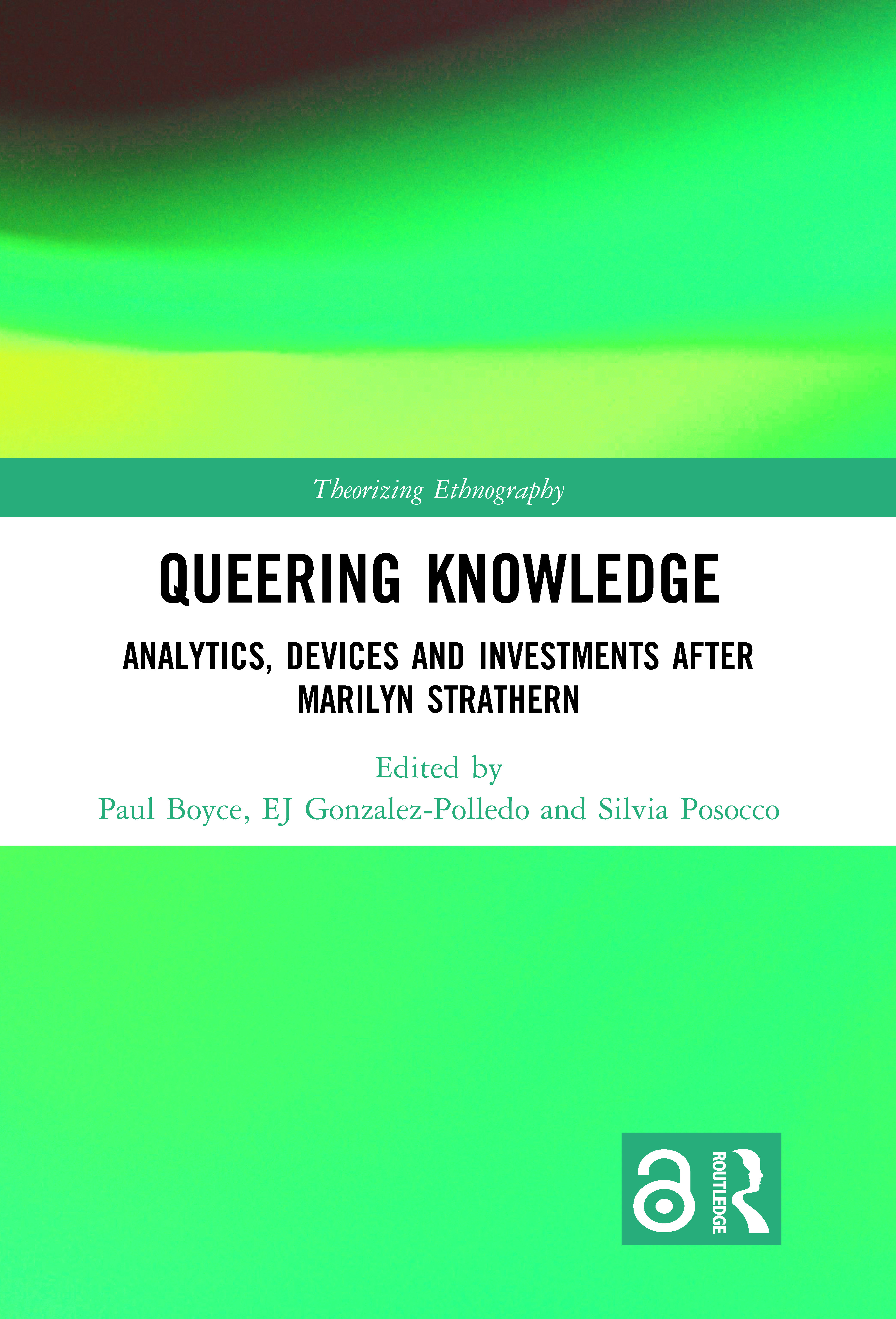 Queering Knowledge: Analytics, Devices, and Investments after Marilyn Strathern book cover