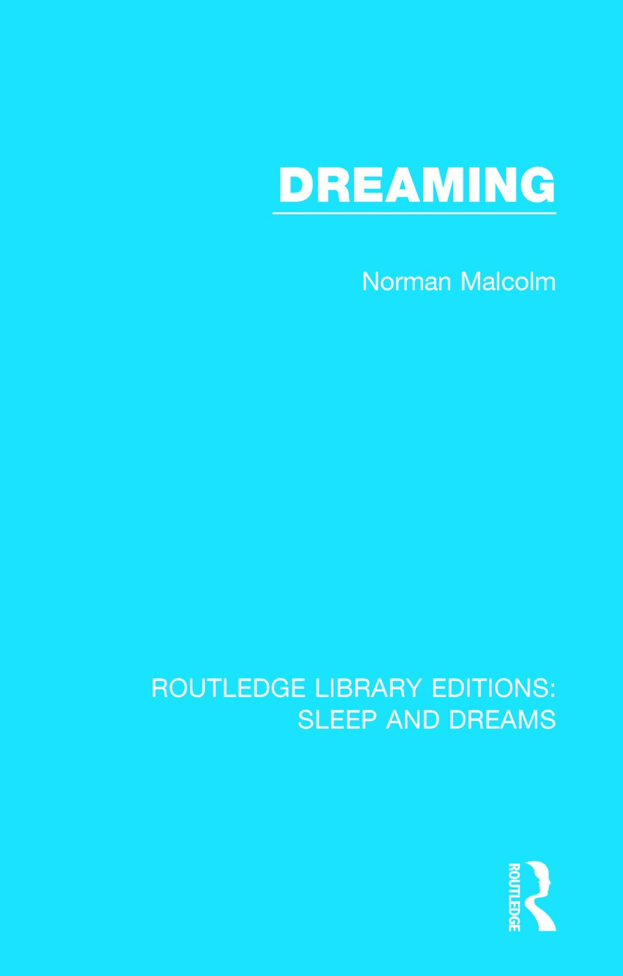 Dreaming book cover