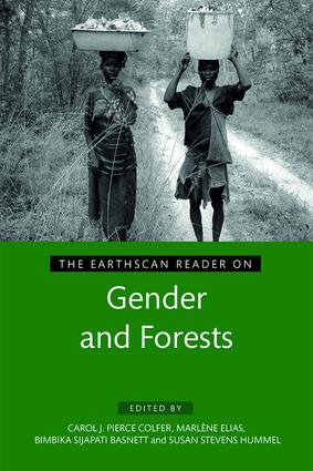 The Earthscan Reader on Gender and Forests book cover