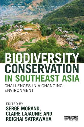 Biodiversity Conservation in Southeast Asia: Challenges in a Changing Environment (Hardback) book cover
