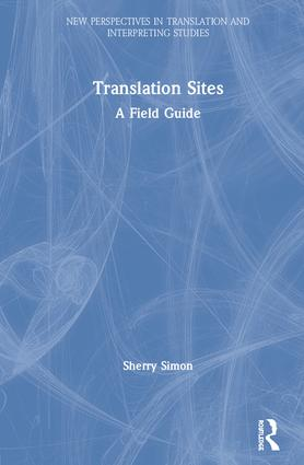 Translation Sites: A Field Guide book cover