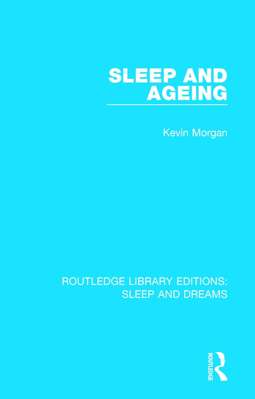 Sleep and Ageing book cover