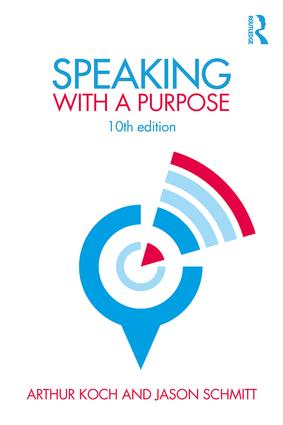 Speaking with a Purpose: 10th Edition (Paperback) book cover