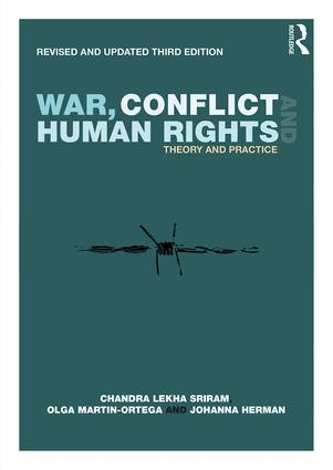 War, Conflict and Human Rights: Theory and Practice book cover