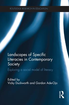 Landscapes of Specific Literacies in Contemporary Society: Exploring a social model of literacy, 1st Edition (Paperback) book cover