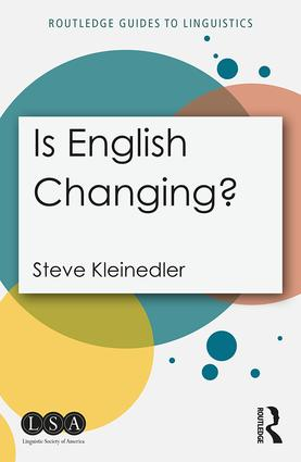 Is English Changing?: 1st Edition (Paperback) book cover