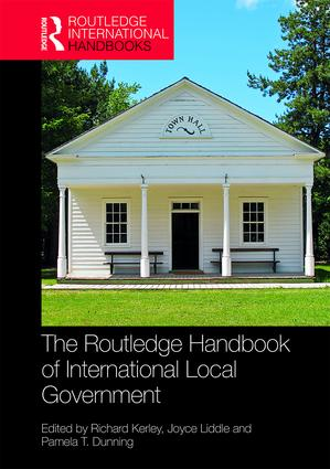 The Routledge Handbook of International Local Government book cover