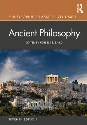 Philosophic Classics: Ancient Philosophy, Volume I: 7th Edition (Paperback) book cover