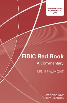 FIDIC Red Book: A Commentary book cover