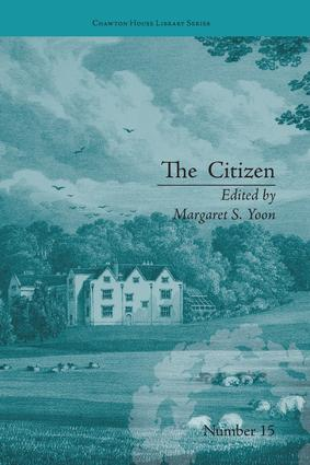 The Citizen: by Ann Gomersall book cover