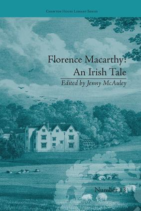 Florence Macarthy: An Irish Tale: by Sydney Owenson book cover