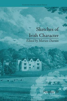 Sketches of Irish Character: by Mrs S C Hall, 1st Edition (Paperback) book cover