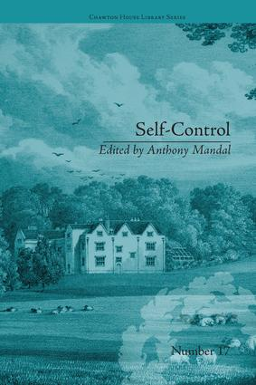 Self-Control: by Mary Brunton book cover