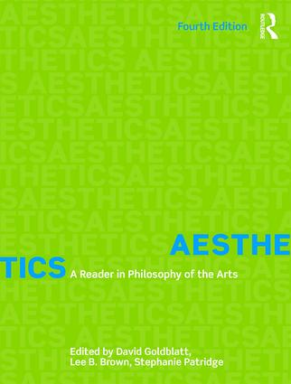 Aesthetics: A Reader in Philosophy of the Arts, 4th Edition (Paperback) book cover