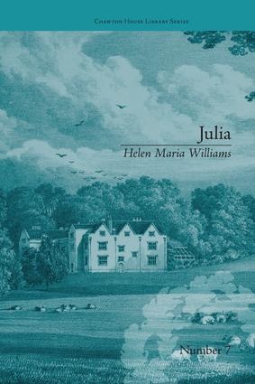 Julia: by Helen Maria Williams, 1st Edition (Paperback) book cover