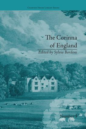 The Corinna of England, or a Heroine in the Shade; A Modern Romance: by E M Foster book cover