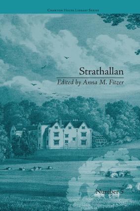 Strathallan: by Alicia LeFanu book cover