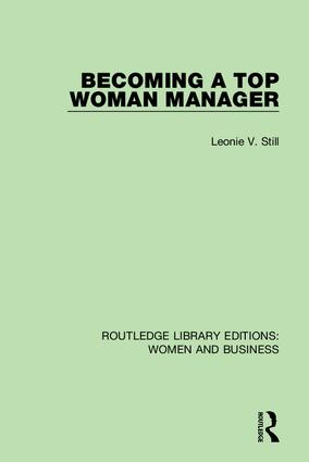 Routledge Library Editions: Women and Business book cover