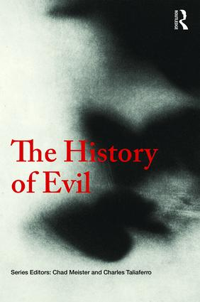 The History of Evil: 1st Edition (Hardback) book cover