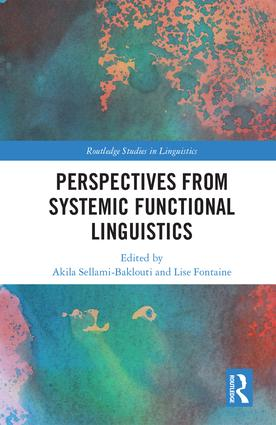 Perspectives from Systemic Functional Linguistics: 1st Edition (Hardback) book cover