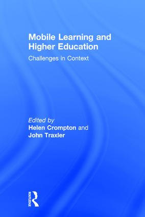 Mobile Learning and Higher Education: Challenges in Context, 1st Edition (Hardback) book cover