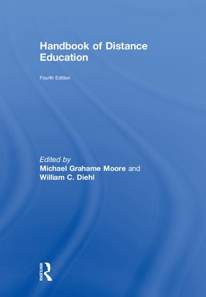 Handbook of Distance Education: 4th Edition (Hardback) book cover
