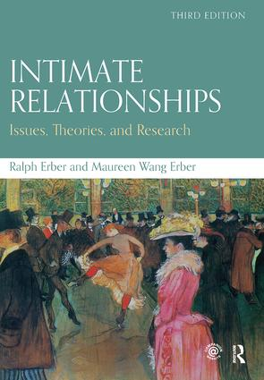 Intimate Relationships: Issues, Theories, and Research book cover