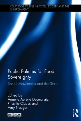 Public Policies for Food Sovereignty: Social Movements and the State book cover