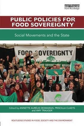 Public Policies for Food Sovereignty: Social Movements and the State, 1st Edition (Paperback) book cover