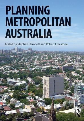 Planning Metropolitan Australia: 1st Edition (Paperback) book cover