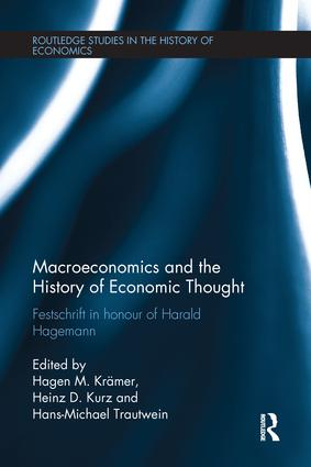 Macroeconomics and the History of Economic Thought: Festschrift in Honour of Harald Hagemann book cover