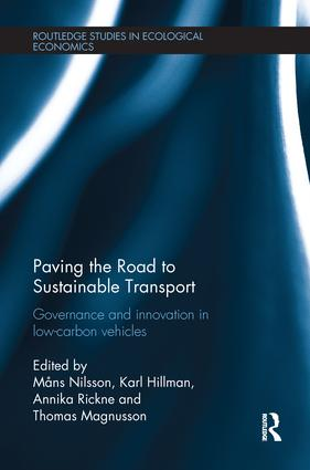 Paving the Road to Sustainable Transport: Governance and innovation in low-carbon vehicles book cover