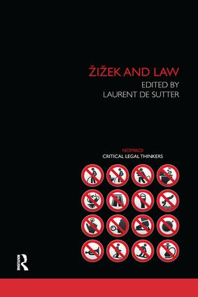 Zizek and Law book cover