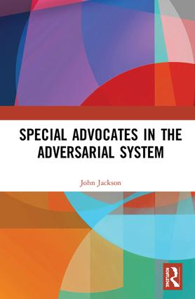 Special Advocates in the Adversarial System book cover