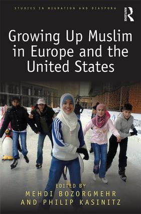 Growing Up Muslim in Europe and the United States: 1st Edition (Paperback) book cover