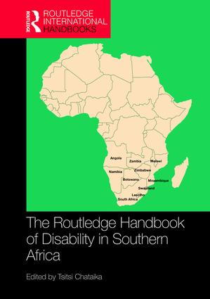The Routledge Handbook of Disability in Southern Africa: 1st Edition (e-Book) book cover