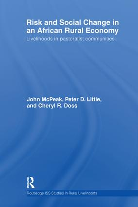 Risk and Social Change in an African Rural Economy: Livelihoods in Pastoralist Communities, 1st Edition (Paperback) book cover