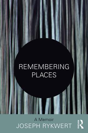 Remembering Places: A Memoir book cover
