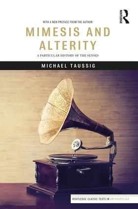 Mimesis and Alterity: A Particular History of the Senses book cover