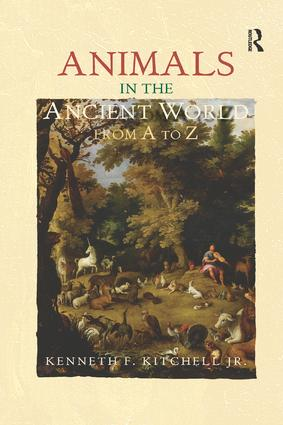 Animals in the Ancient World from A to Z book cover