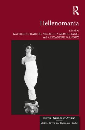 Hellenomania book cover