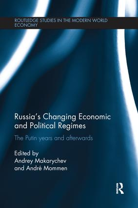 Russia's Changing Economic and Political Regimes: The Putin Years and Afterwards, 1st Edition (Paperback) book cover